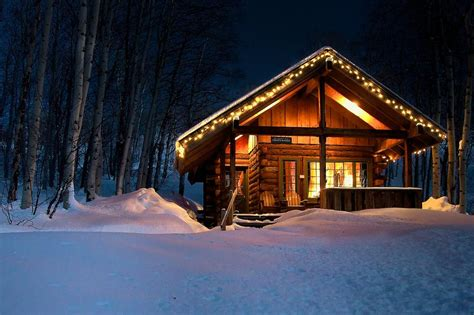 7 winter cabins that you would like to spend winter in