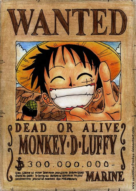 membuat poster wanted one piece luffy wanted poster wallpaper anime e manga pinterest