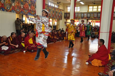 losar tibetan new year ceremony in dharamshala central