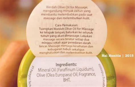 minyak zaitun wardah olive manfaat dan harga
