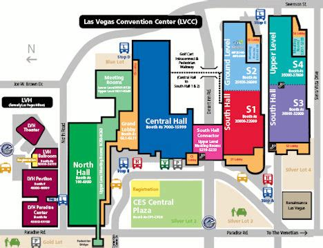 las vegas convention center floor plan 2013 consumer electronics show
