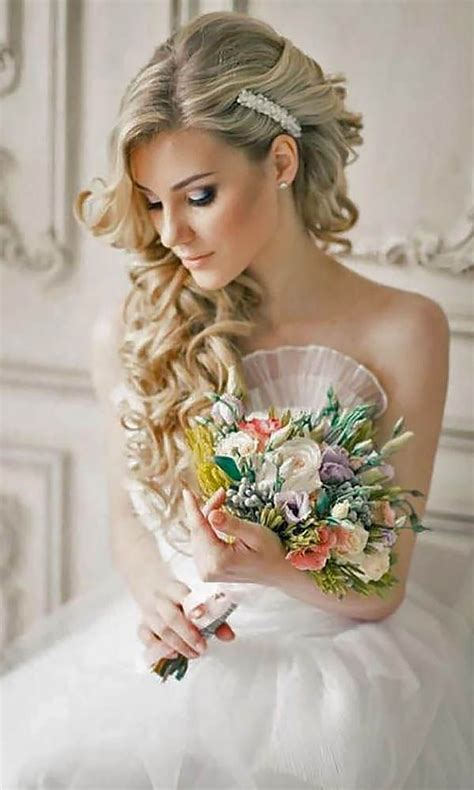 ideas  side hairstyles  pinterest wedding hair side bridesmaid side