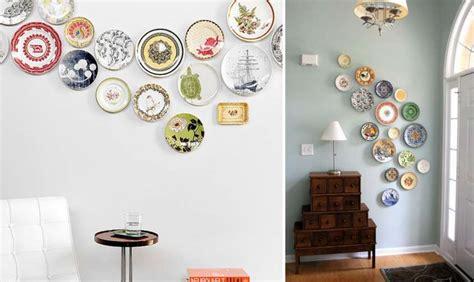 decorare una parete decorare una parete con i piatti foto design mag