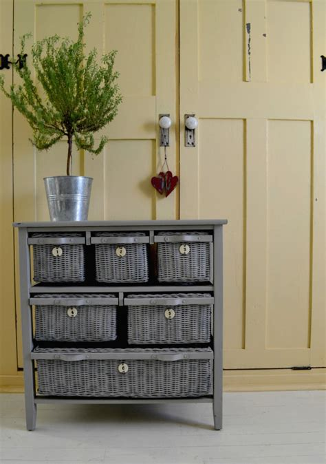 painting wicker bedroom furniture wicker drawer dresser 6 drawers dove gray by sharonmforthehome