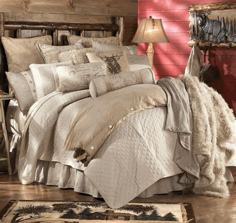rustic comforters rustic bedding fairfield bedding collection black forest
