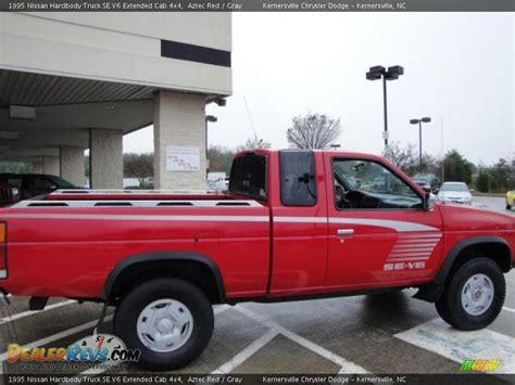 1995 nissan truck 1995 nissan hardbody truck se v6 extended cab 4x4 aztec