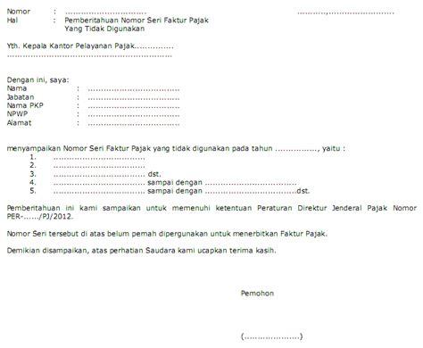 contoh surat faktur pajak batal penomoran faktur pajak baru apa yang harus saya lakukan