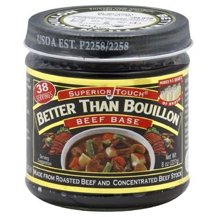 better than beef bouillon better than bouillon beef base 8 oz 227 g