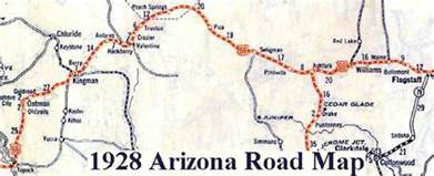 map route 66 arizona driving directions and maps