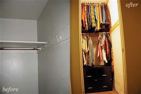 Saving Small Closet Spaces With Stainless Steel And Plastic Hanging Shoe Rack Storage The Post Image For Diy Space Saving Closet Narrow Closet Closets Pinterest Closet
