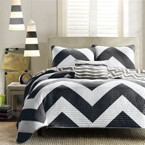 Black And White Chevron Bedding Set Best Black And White Chevron Bedding Sets
