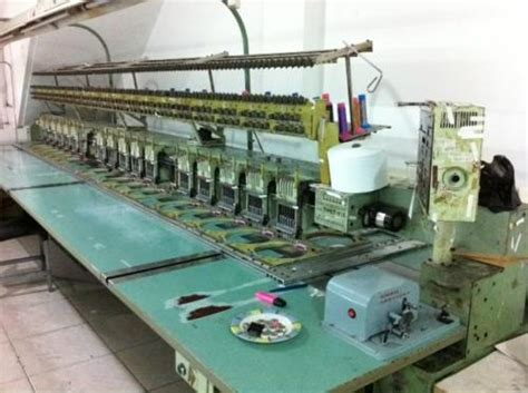 Mesin Bordir Tajima Satu Kepala Jual Mesin Bordir Tajima Tmef 620 Dan Tmeg Xg620 Untuk Konveksi Garment Jual Mesin Sewa Mesin