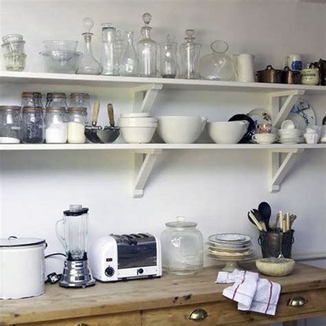 Shelves In Kitchen Instead Of Cabinets Kitchen Small White Open Shelves Kitchen Ideas With Wooden Open Kitchen Shelves Instead Of
