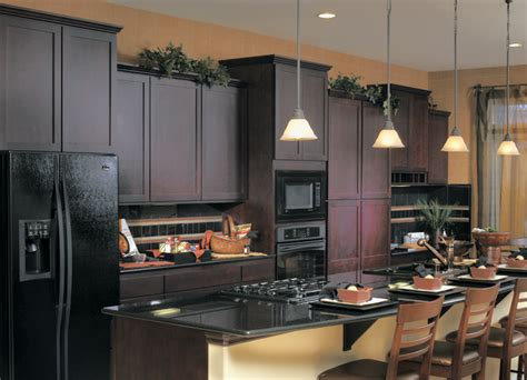 colors for kitchens with dark cabinets kitchen cabinet colors with black appliances decor