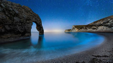 wallpaper durdle door   wallpaper beach night