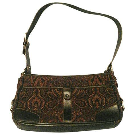 Tas Fasion Aigner Tote Bag multicolour cotton etienne aigner handbag vestiaire collective