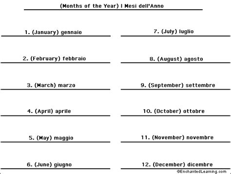 that month in tuscany months of the year