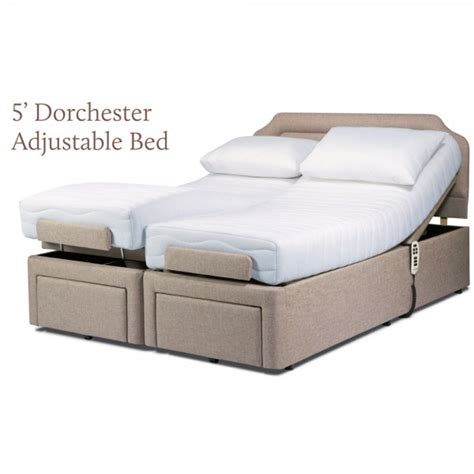 dual adjustable beds sherborne dorchester king size electric dual motor