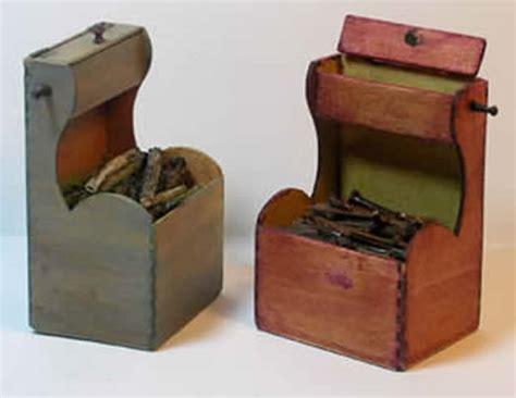 miniature shaker fireplace wood box shaker works west