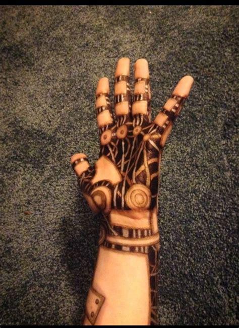 tattoo robot hand robot arm fx makeup pinterest sharpie tattoos ink