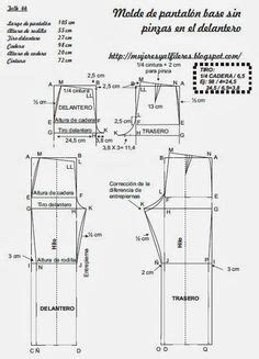 Celana Fallas patr 243 n de costura gratis en pdf para imprimir en casa blusa larga talla s m l costura