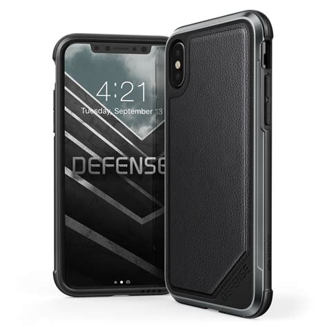 X Doria Iphone 6s Plus Defense Black Leather Gr Murah 1 defense protective iphone 6s cases and iphone 6 cases