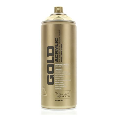 spray paint gold montana gold acrylic spray paint goldchrome m3000