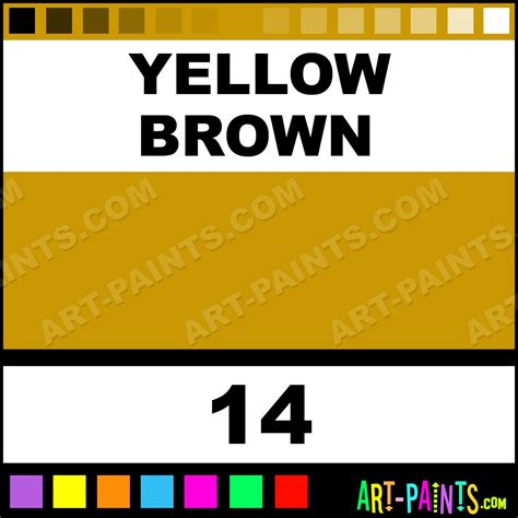 yellow brown supplies encaustic wax beeswax paints 14 yellow brown paint yellow brown