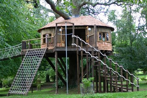backyard treehouse for kids treehouses for kids for a surprise gift homestylediary com