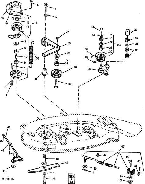 deere deck parts diagram deere mower deck parts diagram deere 42
