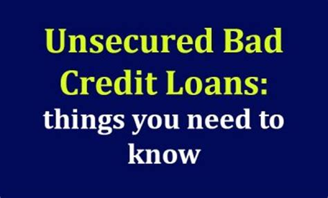 bad credit loans archives mycheckweb