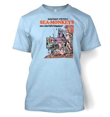 sea monkeys instant pets mens t shirt