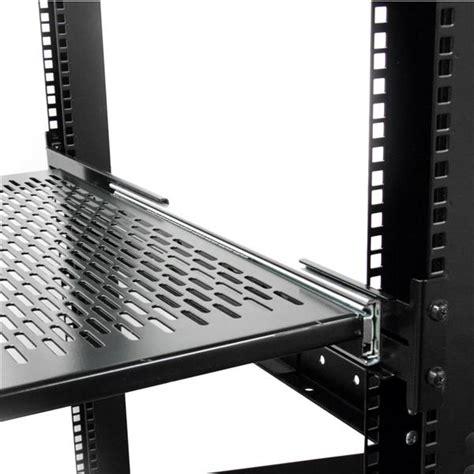 How To Install Rack Mount Server by Server Rack Cabinet Shelf Startech