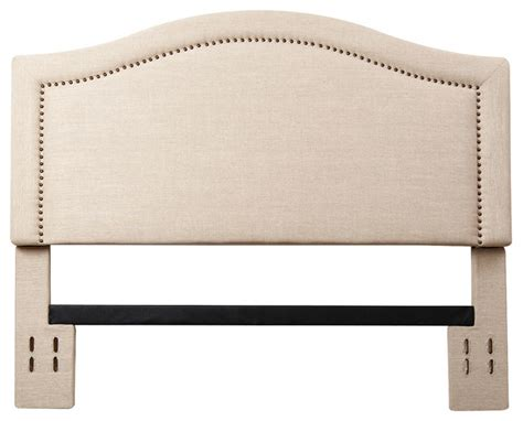 Leather Headboard With Nailhead Trim by Raleigh Nailhead Trim Brown Leather Headboard