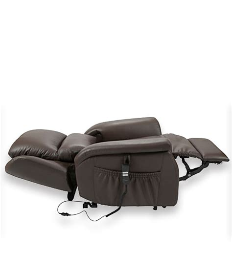 stella electric recliner lift chair leather twin motor