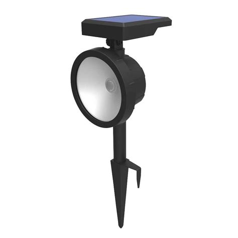 hton bay outdoor solar lights hton bay solar outdoor led wall wash landscape light