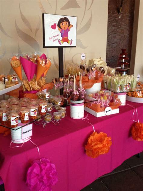 Bar Decoration Ideas Dora The Explorer Candy Table Gasnachos Pinterest