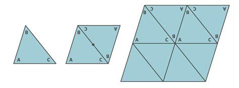 figuras geometricas de 3 lados cubriendo el plano con pol 237 gonos