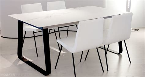 Modern Dining Table Los Angeles Vilna By Ligne Roset Modern Dining Tables Linea Inc Modern Furniture Los Angeles