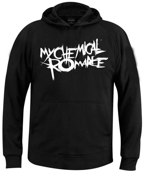 Hoodie Mcr My Chemical Logo 12 my chemical logo hoodie size from coollandart on etsy