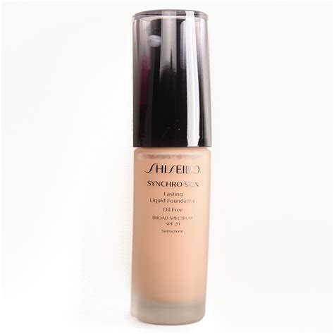 Foundation Shiseido Synchro Sponsored Shiseido Synchro Skin Lasting Liquid Foundation