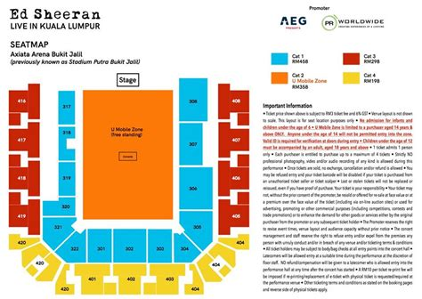 02 Arena Floor Plan update dividetour ed sheeran to return to kuala lumpur