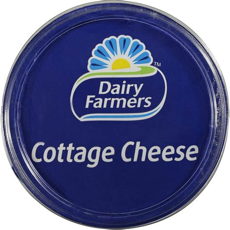 Dairy Farmers Natural Cottage Cheese 500g Woolworths Farmers Cottage Cheese