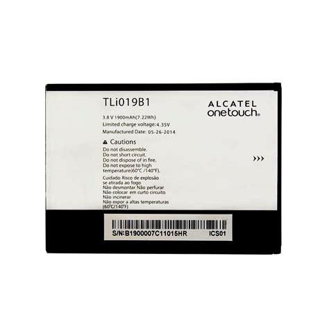 Baterai Alcatel One Touch 7041d bateria tli019b1 celular alcatel one touch pop c7 7040 r