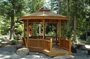 Outdoor Gazebo Plans by How To Create A Comfortable Gazebo At Home Home Amp Garden