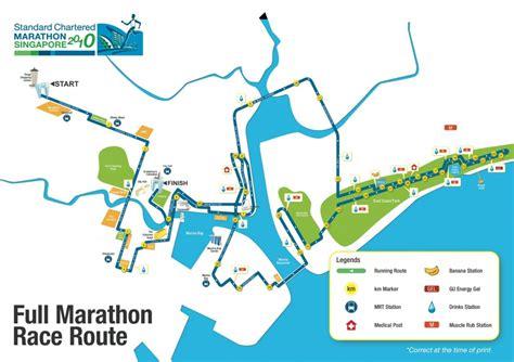 Race Standard Chartered Half Marathon Indonesia 2014 standard chartered marathon singapore 2010 map fm just run lah