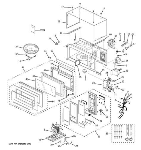 ge spacemaker microwave parts diagram ge profile spacemaker microwave parts engine diagram and