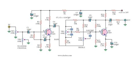 c945 transistor lifier high quality tone circuit by transistor low noise