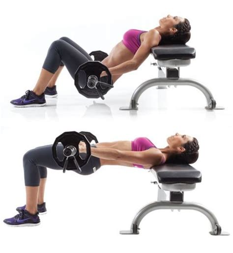 bench glute bridge hip trust for your glutes charming bench glute bridge 4