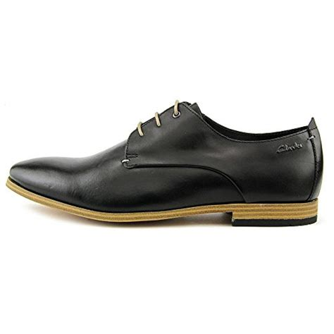 Clarks Oxford 1 by Clarks S Chinley Walk Black Leather Oxford 10 D M